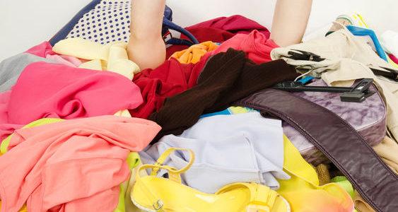 Wie räume ich den Kleiderschrank effizient?